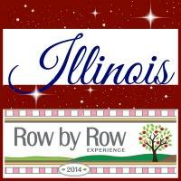 row by row Illinois FB logo
